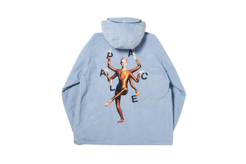 Palace Fall Winter 2019 Collection Hoodie Blue