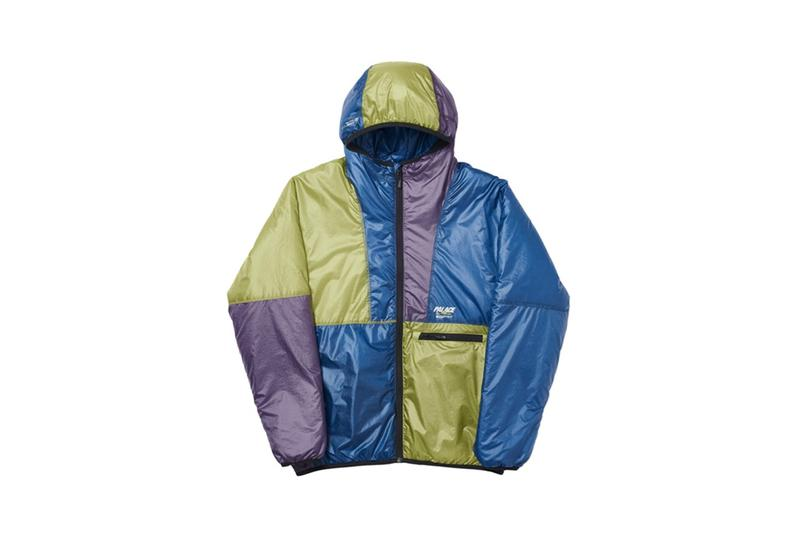 Palace Fall Winter 2019 Collection Jacket Blue Purple