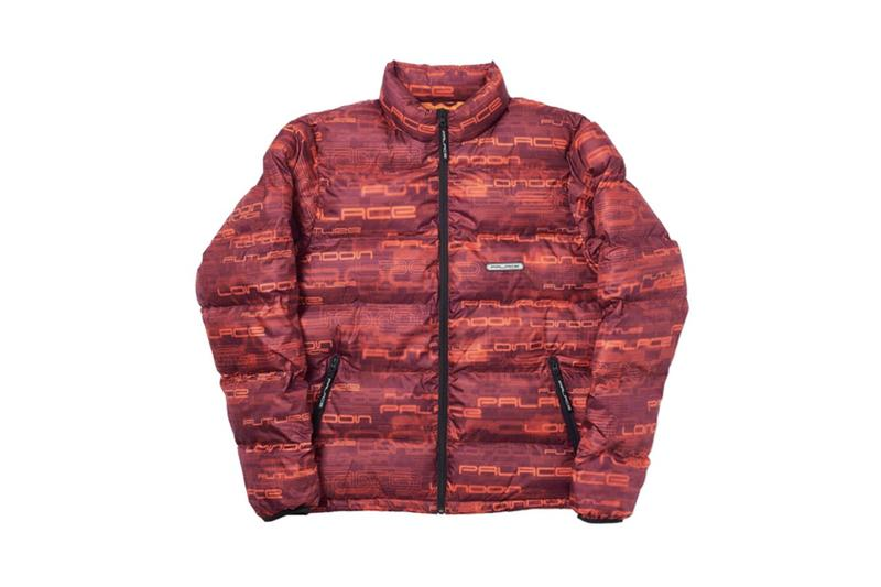 Palace Fall Winter 2019 Collection Jacket Red