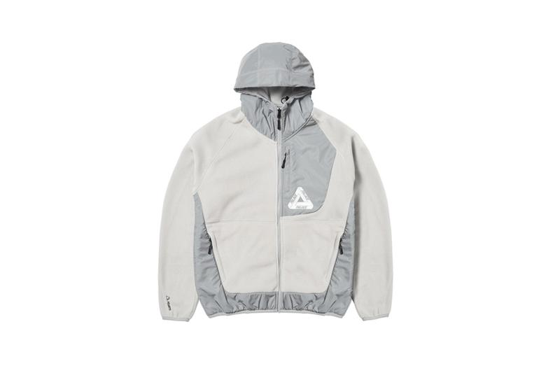 Palace Fall Winter 2019 Collection Jacket Grey