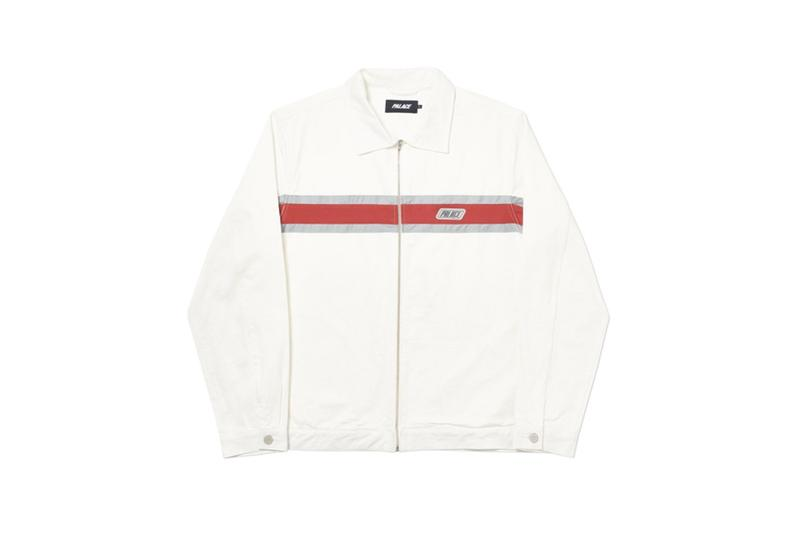 Palace Fall Winter 2019 Collection Jacket White