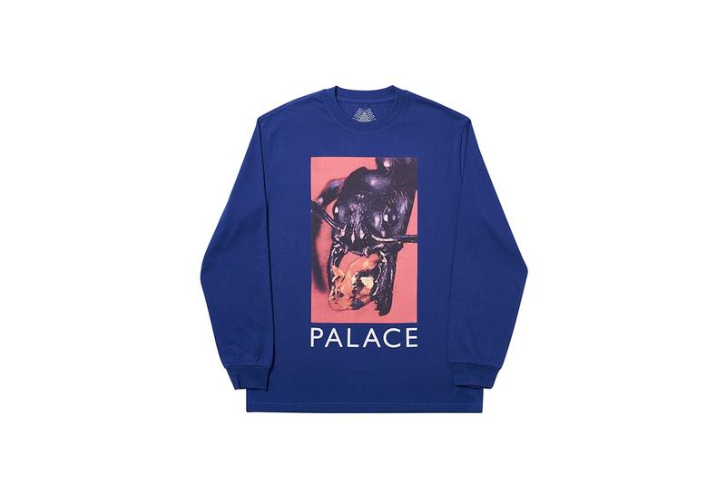 Palace Fall/Winter 2019 Drop 4 Collection Pieces Glow in the Dark Tracksuit Logo Hoodie Sweatshirt T-Shirt Release