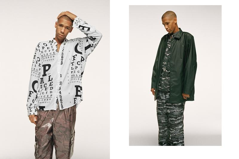 Palace Fall Winter 2019 Lookbook Jacket Grey Green