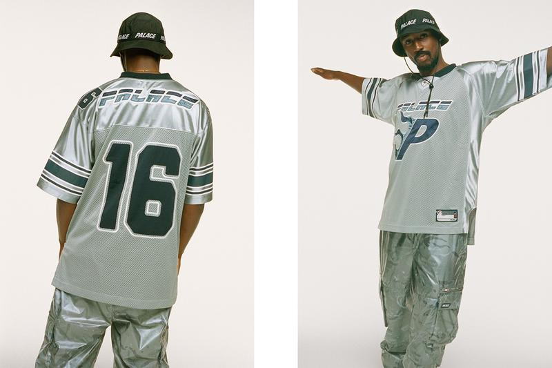 Palace Fall Winter 2019 Lookbook Jersey Grey Blue