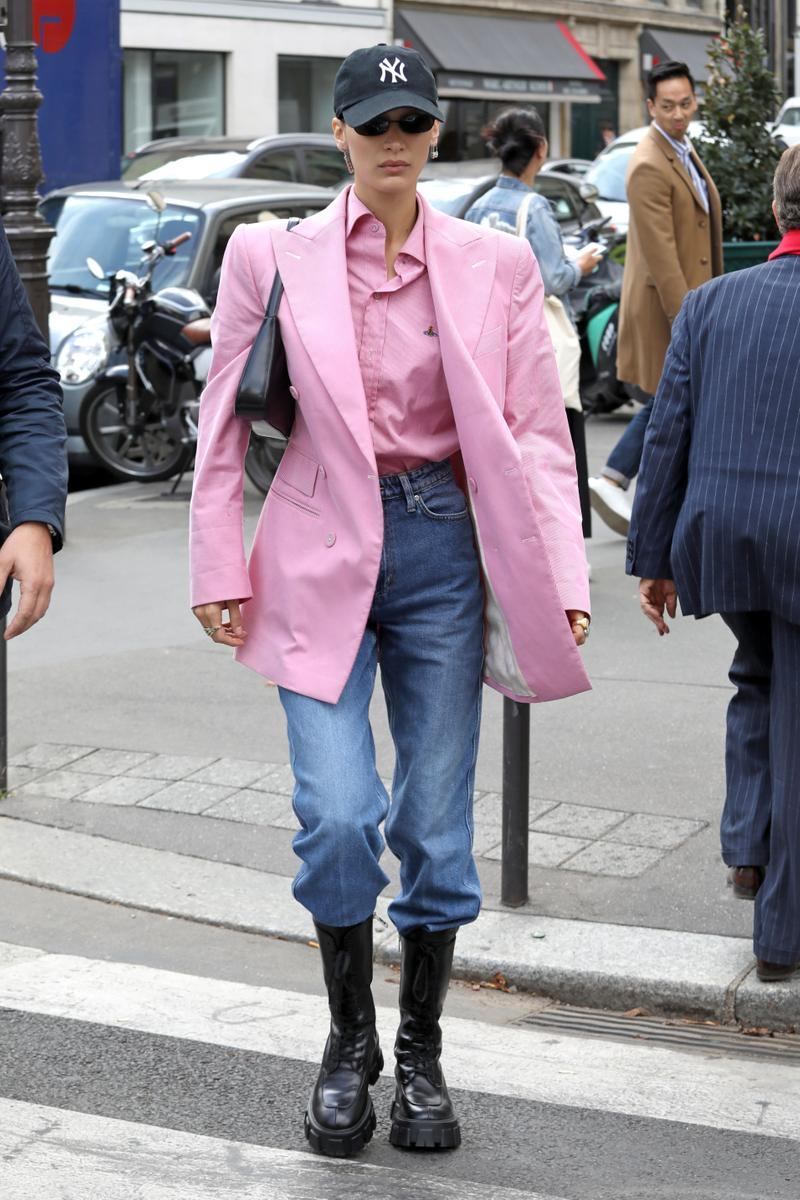 Best Celebrity Looks From Paris Fashion Week SS20 BLACKPINK Rose Jorja Smith Zoe Kravitz Ezra Miller Natalia Dyer Jennifer Lawrence Leomie Anderson