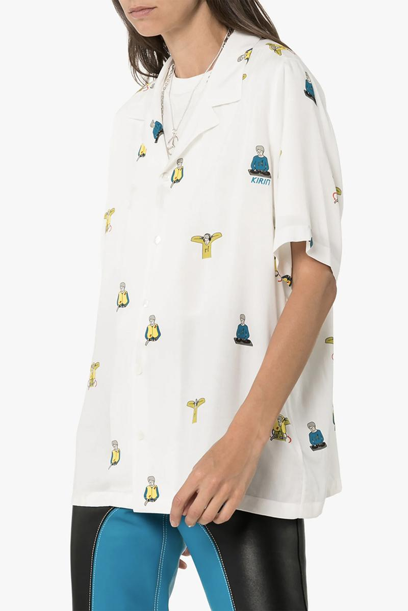 Peggy Gou Kirin Short Sleeve Flying DJ Shirt Browns East