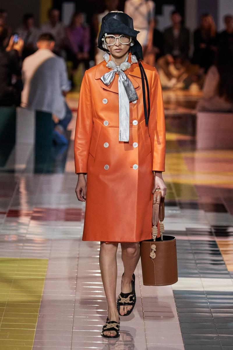 Prada Spring Summer 2020 Collection Milan Fashion Week Jacket Orange