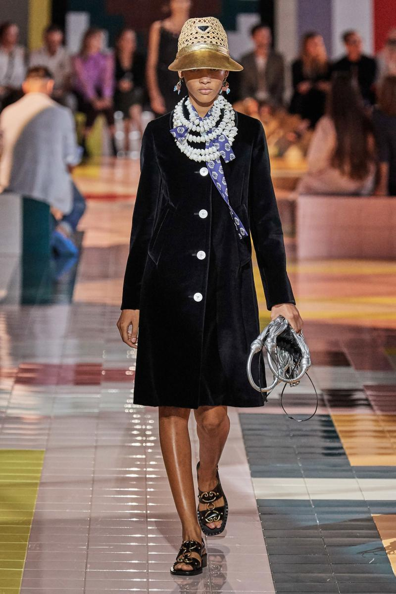 Prada Spring Summer 2020 Collection Milan Fashion Week Jacket Black