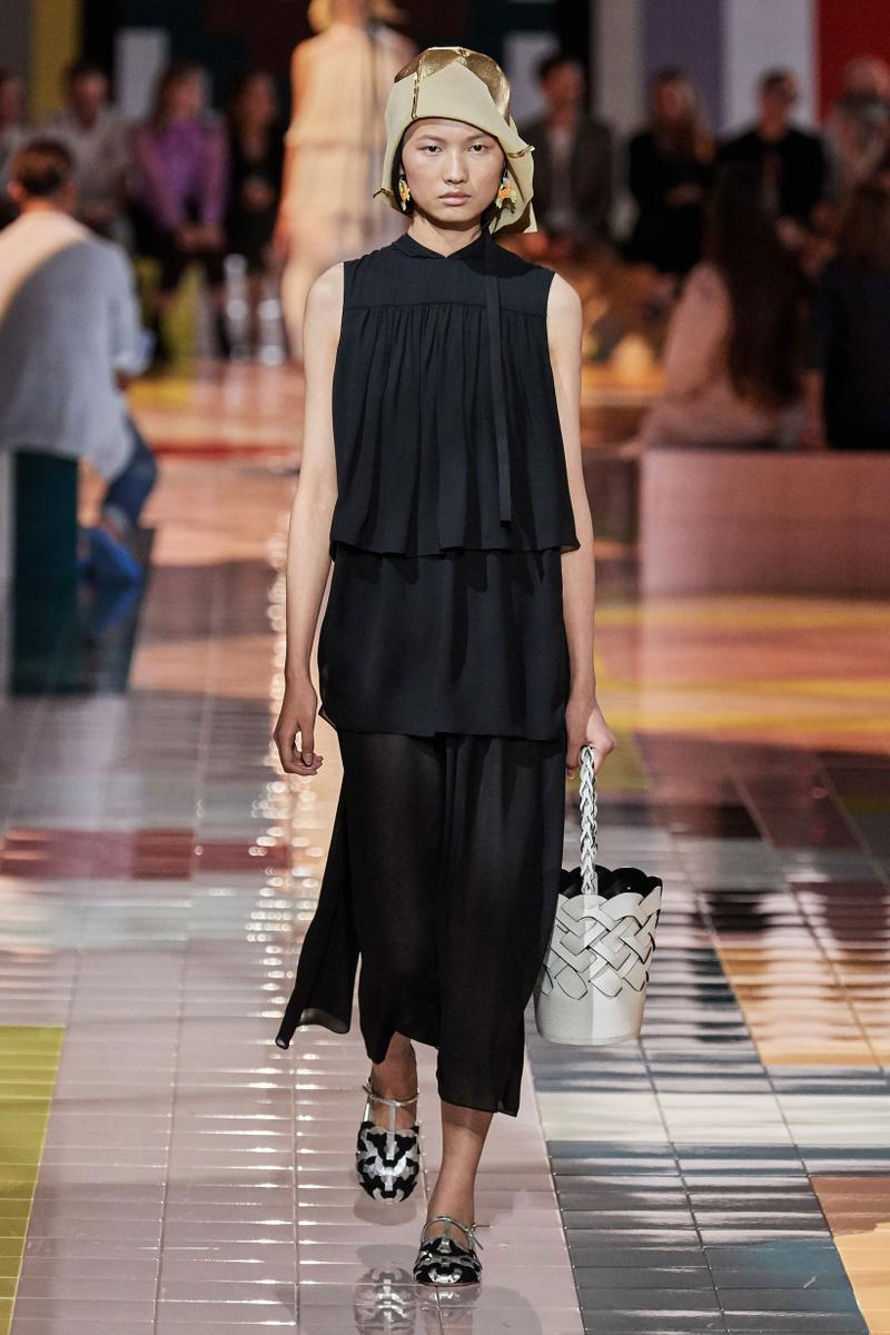 Prada Spring Summer 2020 Collection Milan Fashion Week Dress Black