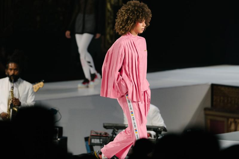 Pyer Moss Collection 3 New York Fashion Week Spring Summer 2020 Jacket Pants Pink