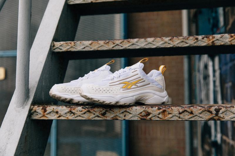 Reebok DMX Series 2K Collection White Toxic Yellow