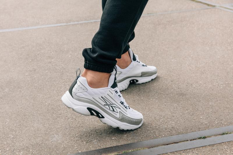 Reebok DMX Series 2K Collection White Black