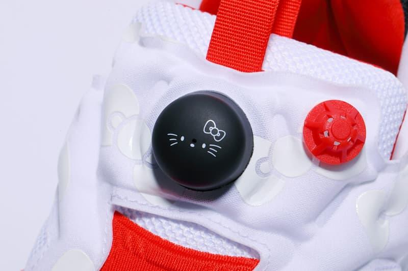 Hello Kitty Gudetama Reebok Instapump Fury OG Sanrio Sneakers Trainers Adults Kids Sizes Japan Where to Buy