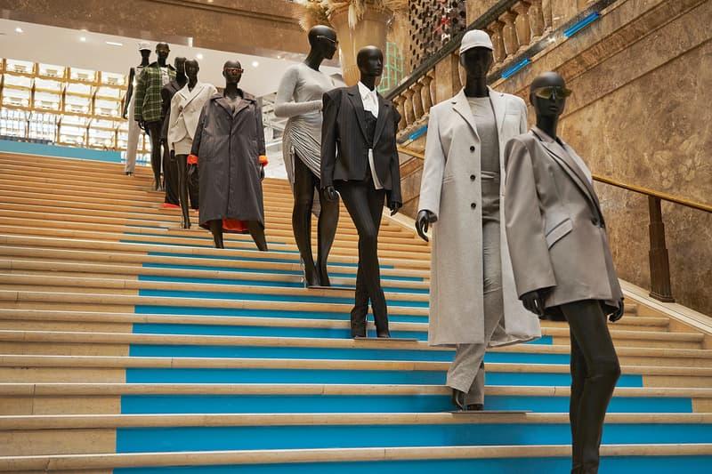 rihanna fenty pop up galeries lafayette champs elysees paris fashion clothes