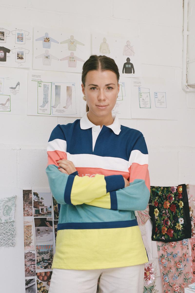 Roberta Einer Interview SS20 London Fashion Week Designer Brand Louboutin Studio Visit