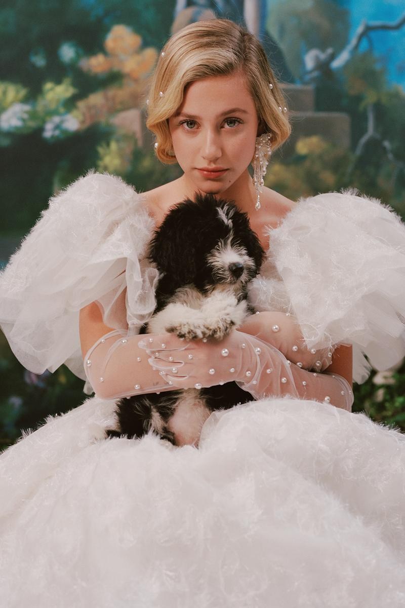 rodarte spring summer 2019 lookbook dress lili reinhart