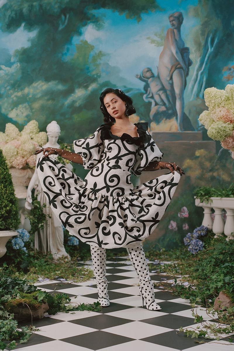 rodarte spring summer 2019 lookbook dress