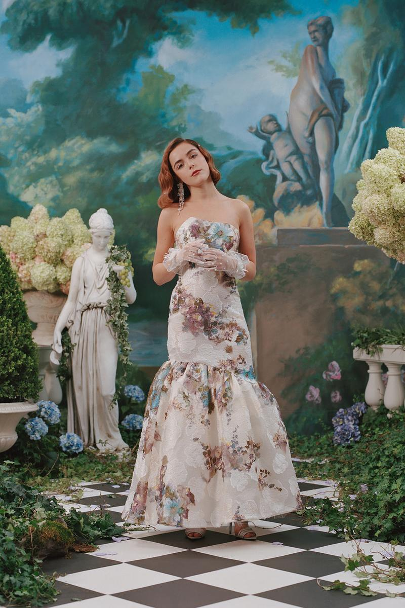 rodarte spring summer 2019 lookbook dress kiernan shipka