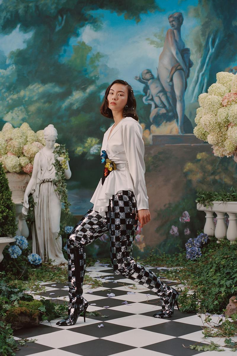 rodarte spring summer 2019 lookbook dress lauren tsai