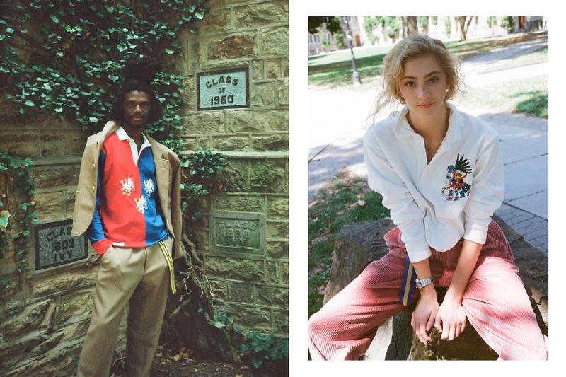 Rowing Blazers Fall Winter 2019 Lookbook Shirts White Red Blue