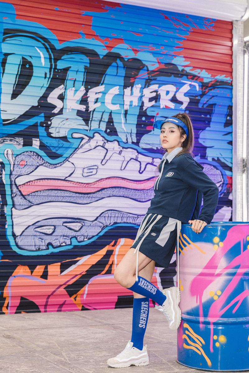 skechers energy womens sneakers release lookbook pink purple white red blue