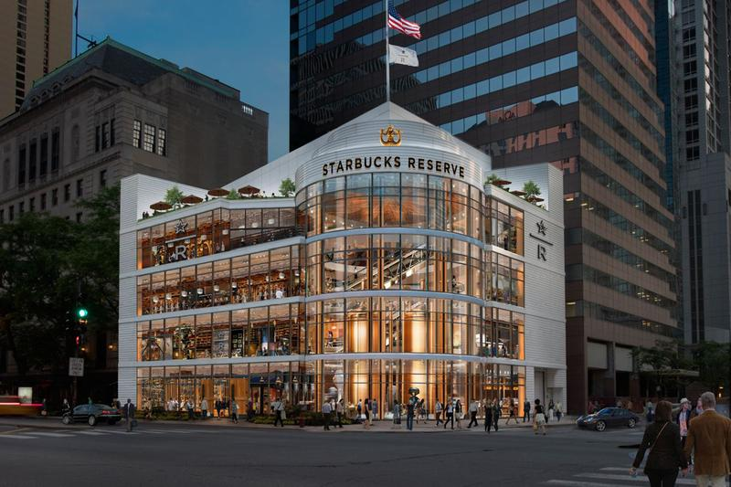 Starbucks Reserve Roastery Chicago Opening Largest Store