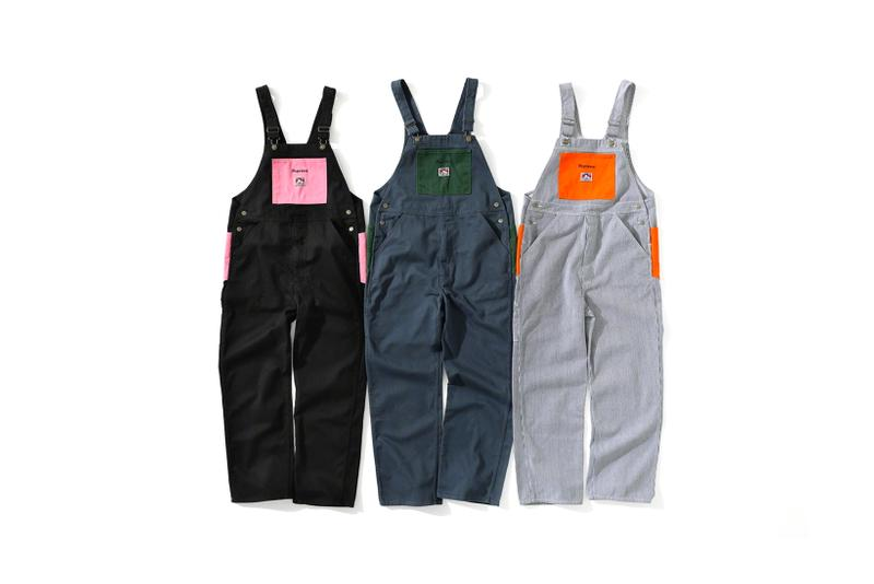 supreme ben davis fall collection jackets shirts overalls pants beanies fashion workwear