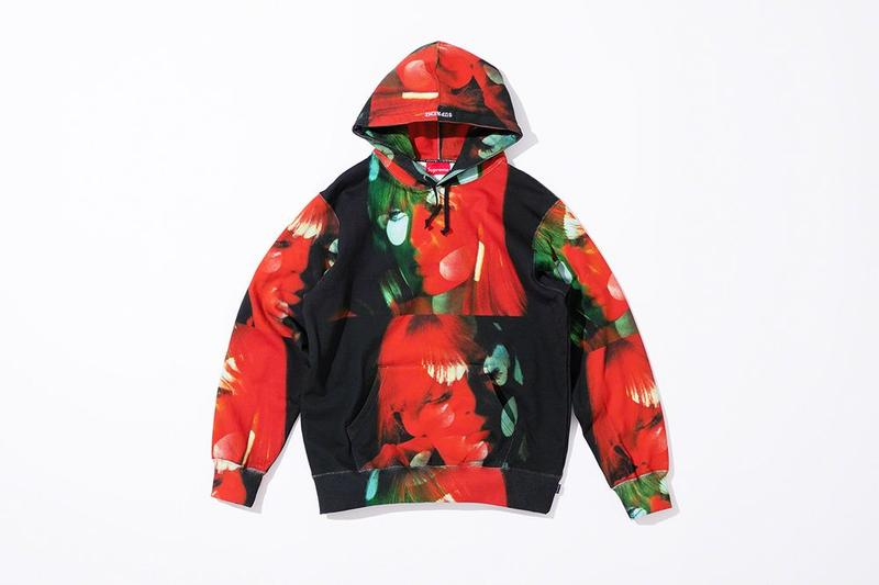 Supreme x The Velvet Underground Fall 2019 Collection Hoodie Black Red