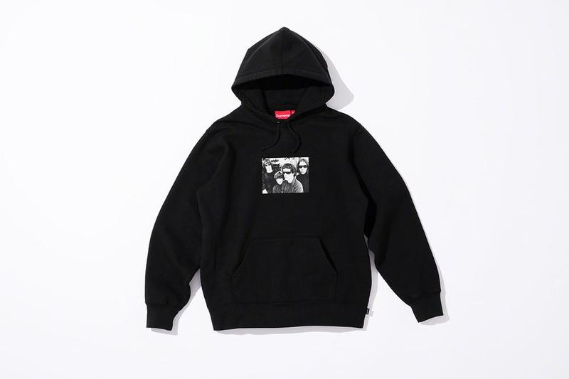 Supreme x The Velvet Underground Fall 2019 Collection Hoodie Black