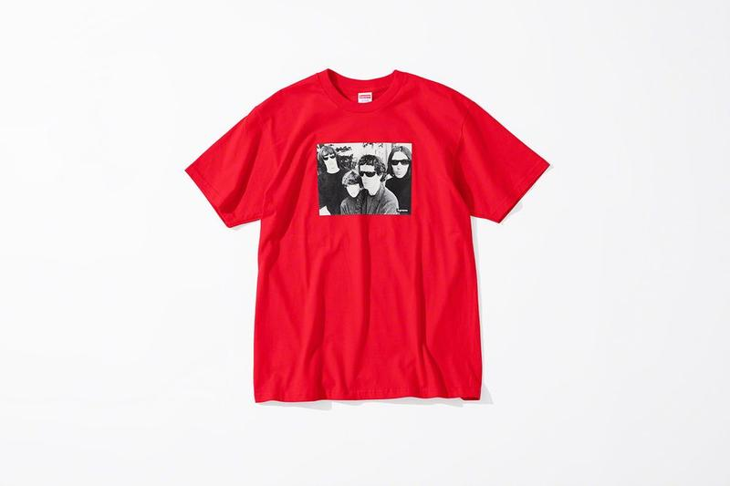 Supreme x The Velvet Underground Fall 2019 Collection T Shirt Red