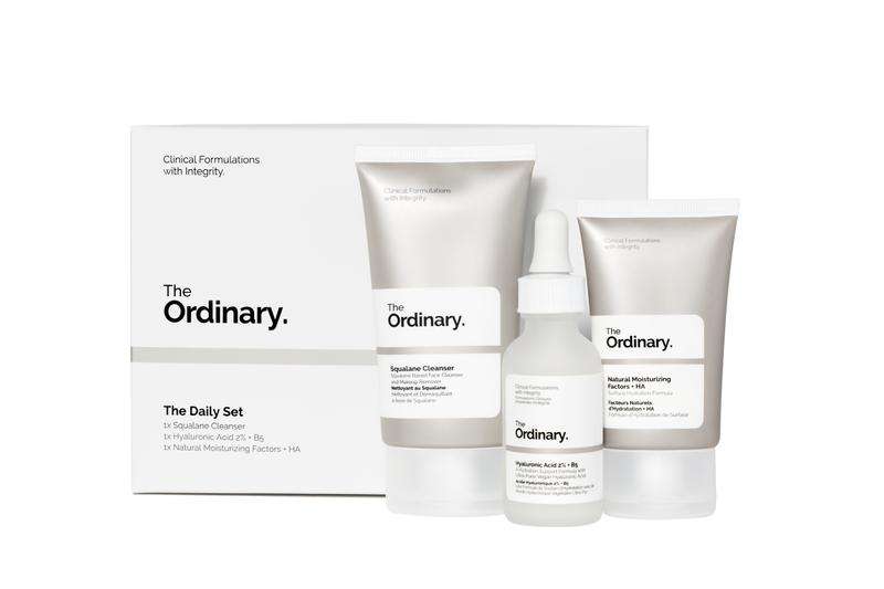 The Ordinary Skincare Products Starter Pack Moisturizer Serum Daily Routine Set Beauty Deciem