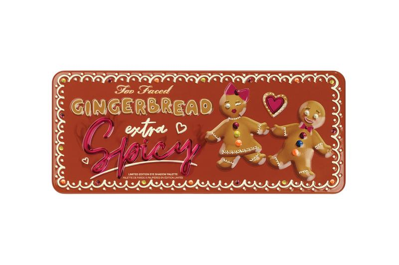 too faced holiday christmas 2019 makeup collection gingerbread beauty eyeshadow