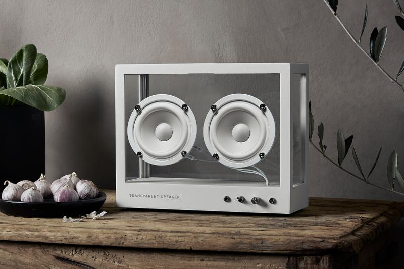 Transparent Sound See Through Glass Speakers Home Audio Scandinavia Minimal Sweden Stockholm Design Interiors Homeware Tech