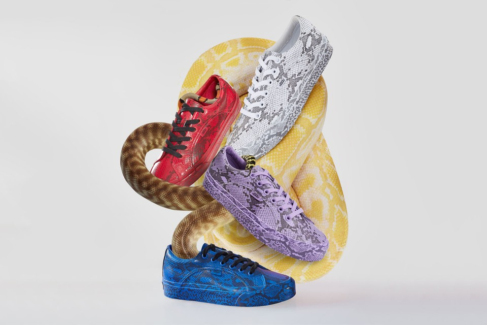 """Opening Ceremony x Vans Unveil """"Snakeskin"""" Sneaker Collection"""