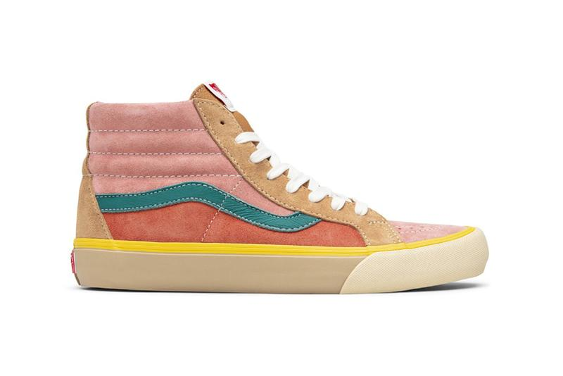 vans vault multi pack era old skool sk8 hi sneakers release footwear shoes sneakerhead brown blue orange pink