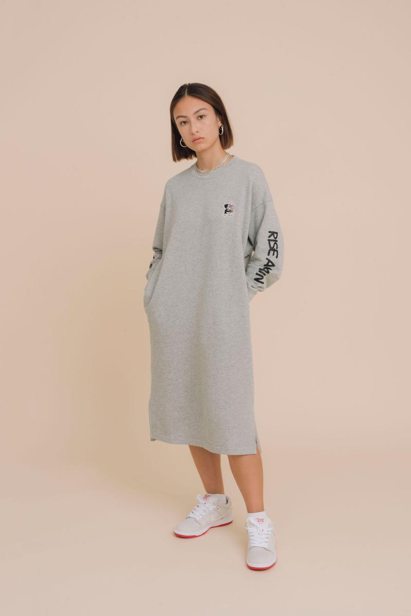 Verdy x Uniqlo UT Fall Winter 2019 Collection Sweater Dress Grey