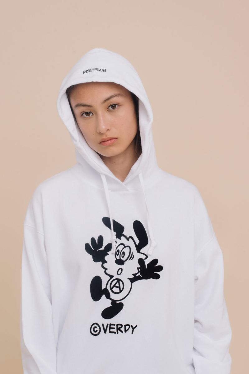 Verdy x Uniqlo UT Fall Winter 2019 Collection Hoodie White