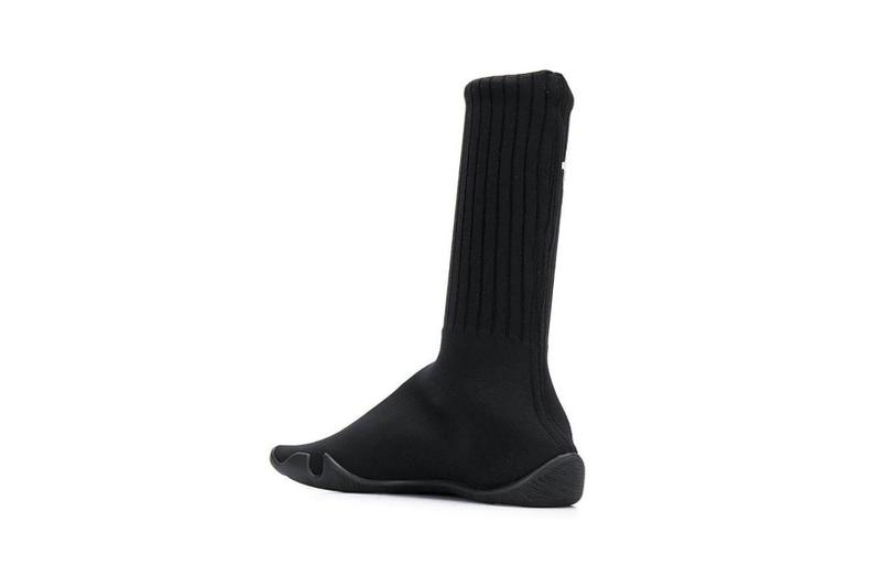 vetements karate anarchy sock sneakers shoes black release