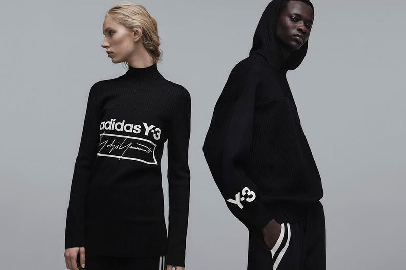 Y-3 Fall Winter 2019 Campaign Sweaters Black