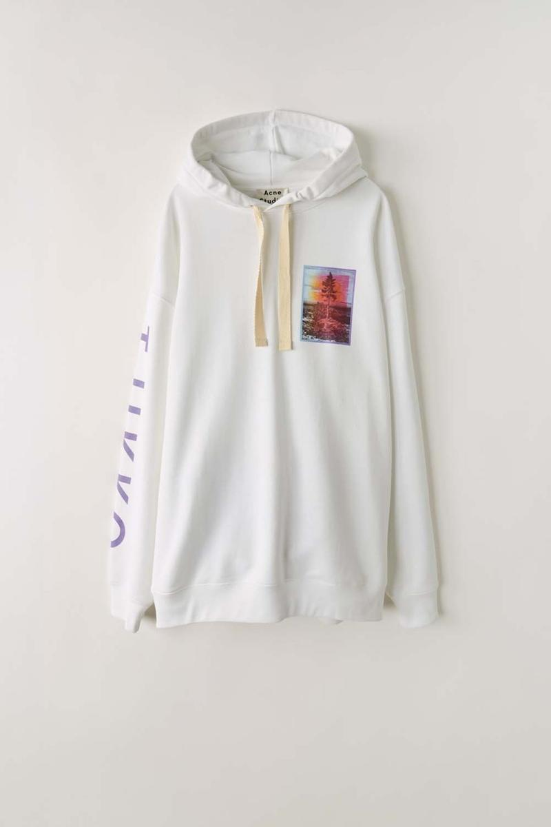acne studios 48 hour archive online pop up sale acne paper tote bag smiley face red grey hoodie