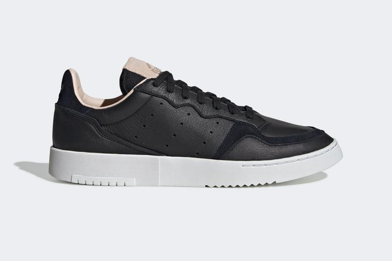 adidas supercourt white navy black sneaker trainer footwear silhouette house of classics collection