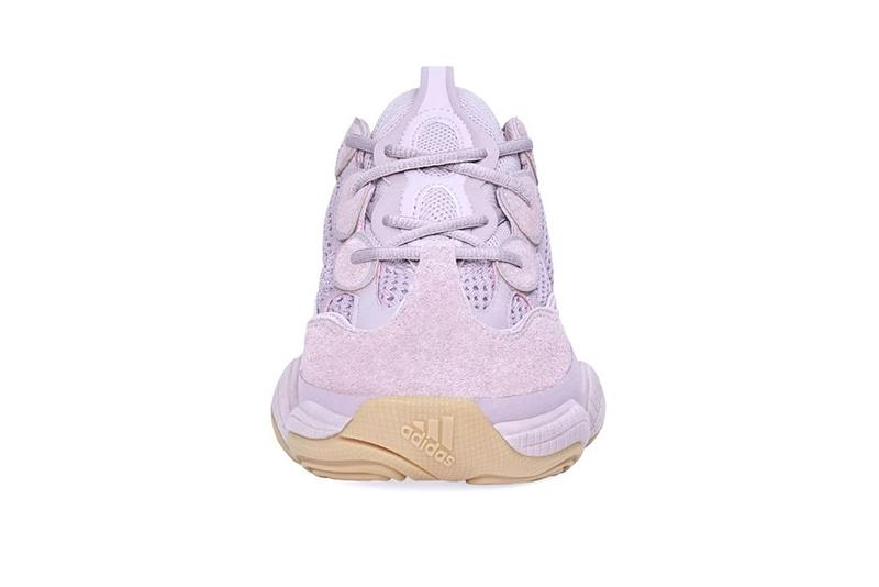 "adidas YEEZY BOOST 500 ""Soft Vision"" Pastel Purple Release Date Closer Look Kanye West"