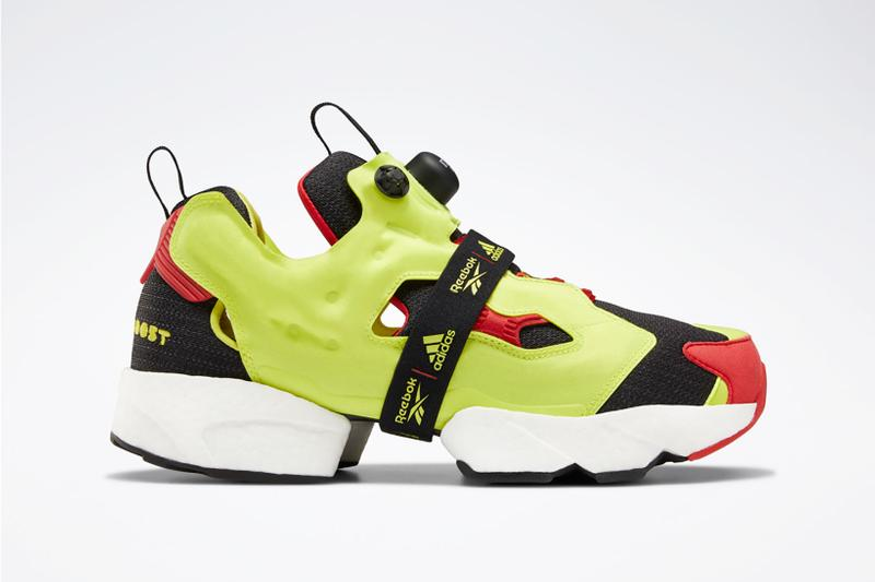 adidas reebok instapump fury boost prototype og meets og release date black white blue neon green sneakers footwear shoes sneakerhead