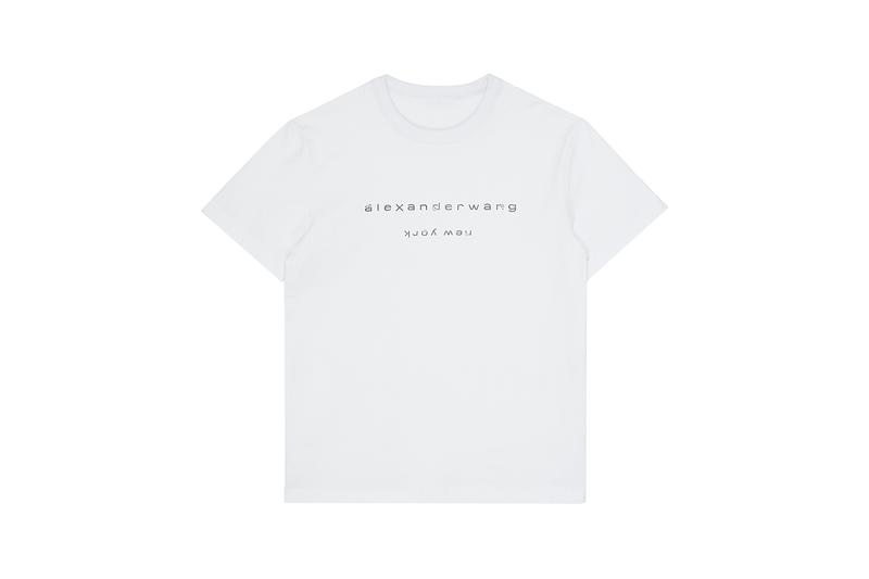 alexander wang lane crawford exclusive capsule collection mules fanny packs sweatshirts