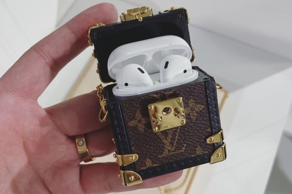 Louis Vuitton Just Unveiled a Tiny Monogram Trunk AirPod Case