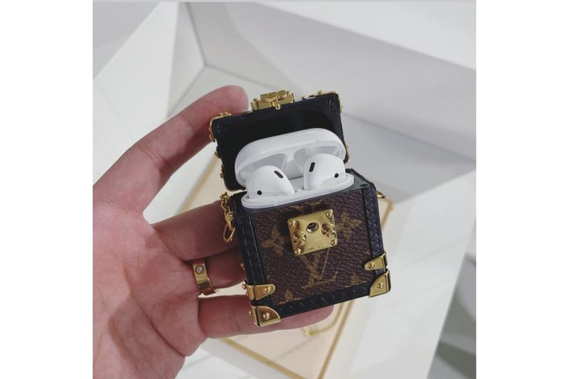 Louis Vuitton Monogram Trunk Apple AirPod Case