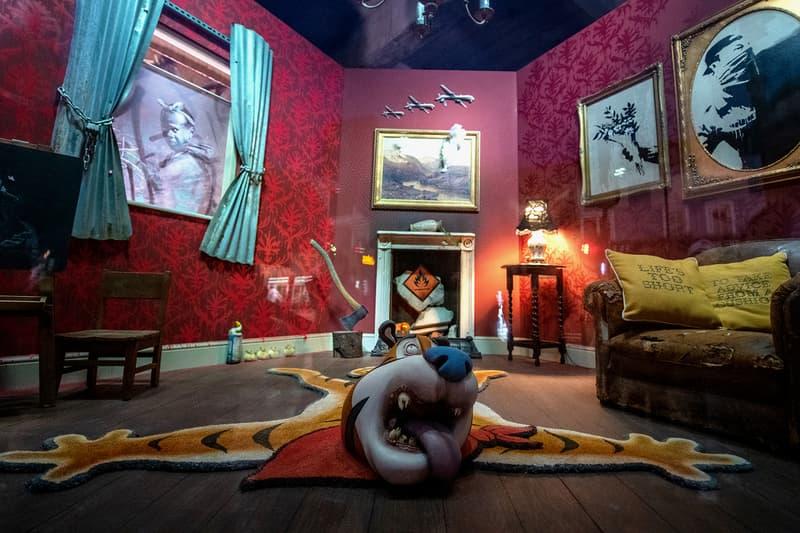 banksy shop london pop-up gross domestic product croydon uk artist