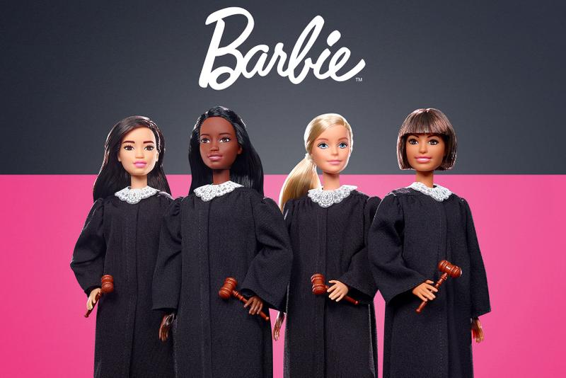 barbie judge dolls toys pink black
