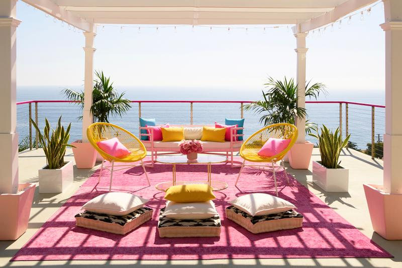 Barbie's Malibu Dreamhouse Now Listed on Airbnb Resort Pool Luxury House Jen Atkin Meet and Greet Kitchen Theme Pink