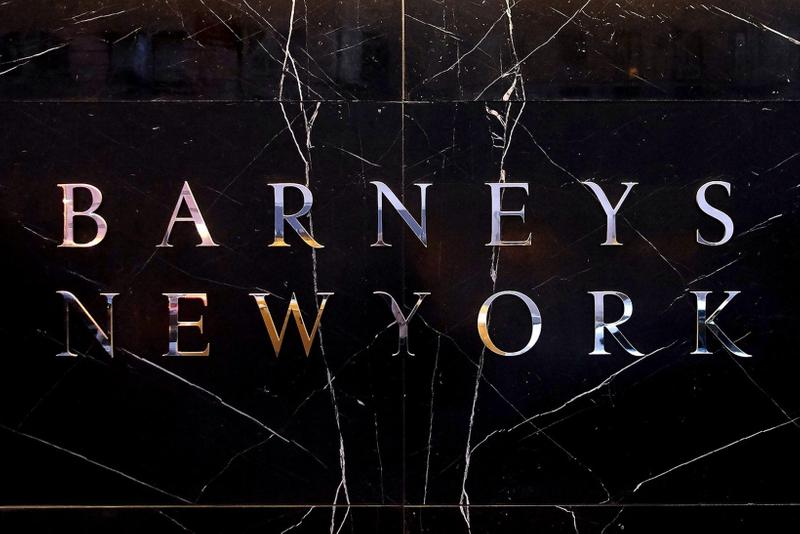 barneys new york sold licensing firm authentic brands group luxury retailer department store